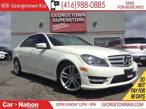 2012 Mercedes-Benz C-Class C250 AWD LEATHER| ROOF| ALLOY WHEELS|