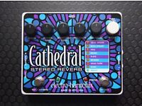 ***SOLD***ELECTRO HARMONICS CATHEDRAL STEREO REVERB PEDAL***SOLD***