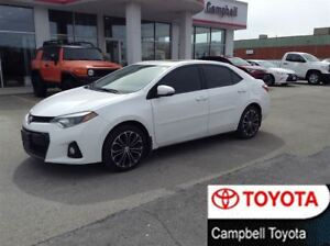 2015 Toyota Corolla S--SPORT ALLOYS--PADDLE SHIFT--DARK TINT