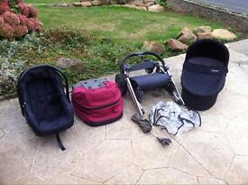 Babystyle Oyster travel system car seat buggy