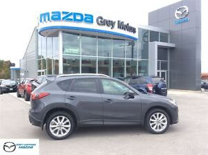 2014 Mazda CX-5 GT, Navi, Heated Leather, Sunroof, One owner, lo