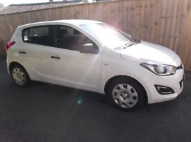 Hyundai i20 Classic 1.2 White 5dr 2012 (62) Petrol/Manual. One owner from new.