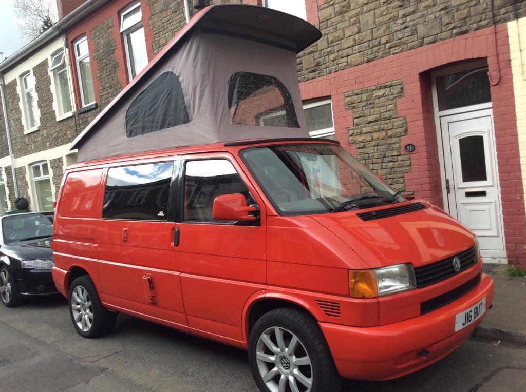 Vw Transporter T4 2500cc Camper Van In Porth Rhondda