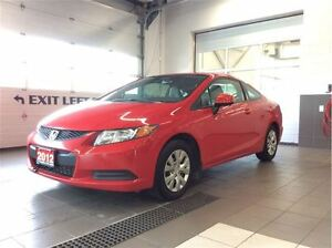 2012 Honda Civic LX Coupe - No Accidents!