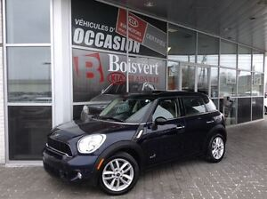 2012 MINI Cooper S Countryman ALL/4     CUIR / TOIT PANO