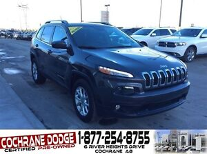 2014 Jeep Cherokee North with JEEP 100,000km EXTENDED WARRANTY!