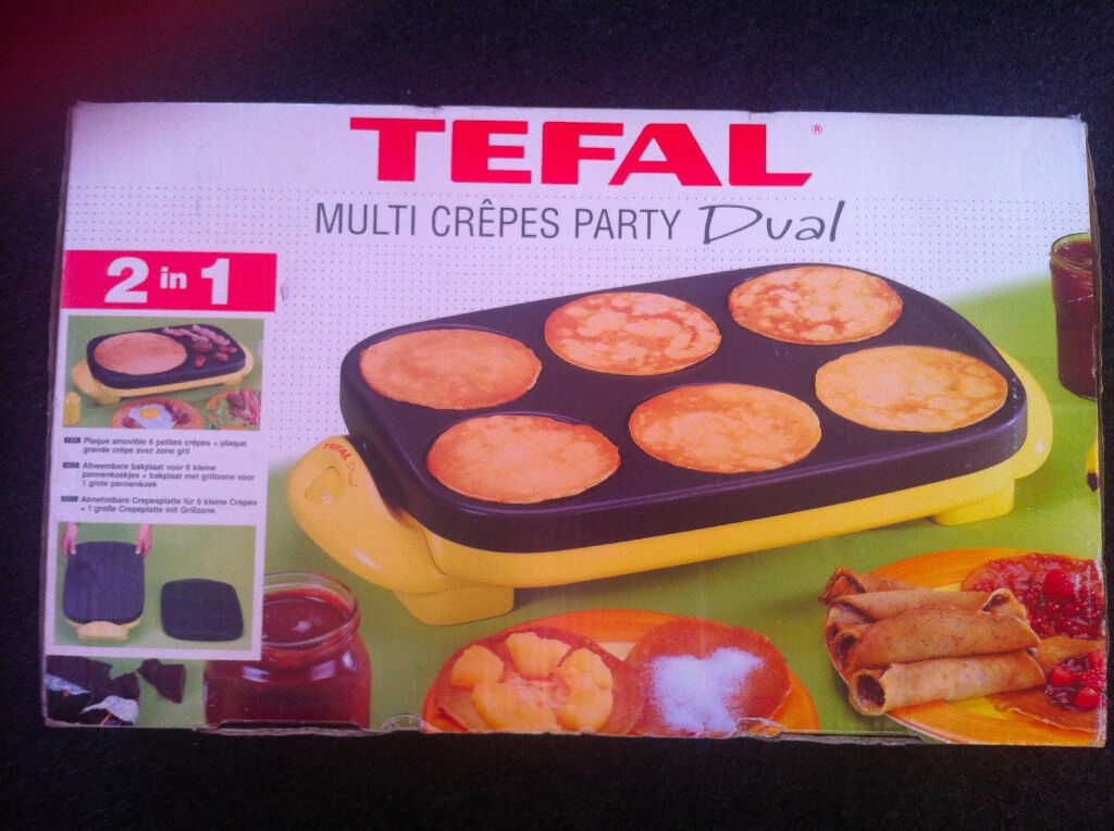 Tefal multi crepes party pancake maker in streatham - Machine a crepe tefal ...