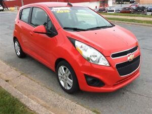 2015 Chevrolet Spark FUEL SIPPING 1.2L 4CYL WITH AC/PWR OPTS/BLU