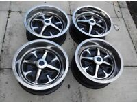 Classic Ford Rostyle wheels 5.5j x 13 Cortina Capri Corsair Anglia etc