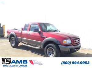 2007 Ford Ranger XLT FX4 Level II 4x4 Supercab with Class III Hi