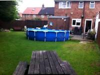 18ft round swimming pool