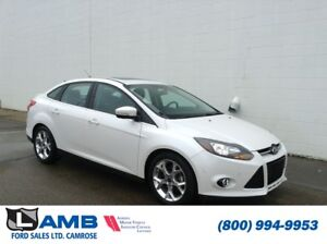 2014 Ford Focus Titanium Sedan FWD with Navigation, Leather and