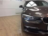BMW 3 SERIES 2.0 320D LUXURY 4d 184 BHP 6 MONTHS WARRANTY (brown) 2014