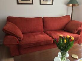 Collins and Hayes large sofa