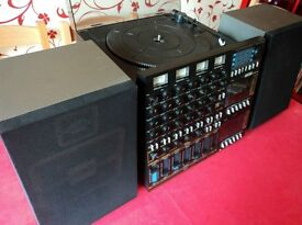 Amstrad Studio 100 Vintage 6 Channel Multitrack cassette recorder/ record player Perfect Condition