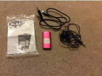Alba Pink MP3 player with 4GB memory