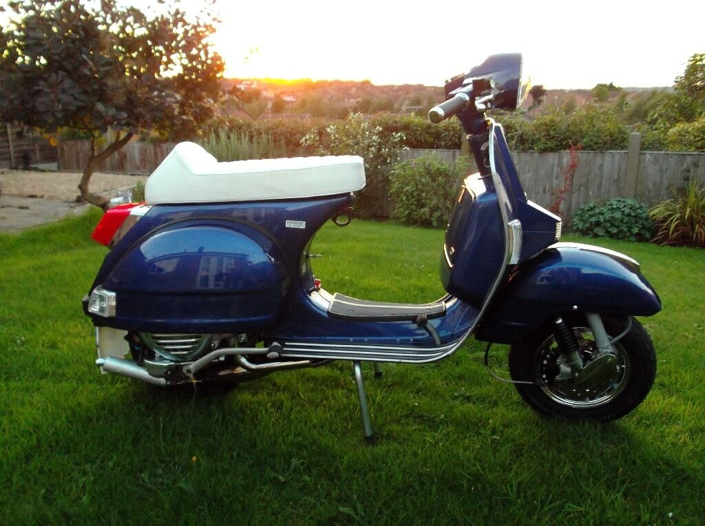 Lml Star 125 2t Scooter Vespa Px Lambretta In Forest