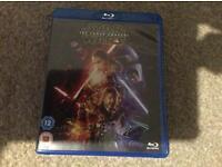 Star Wars force awakens blu ray
