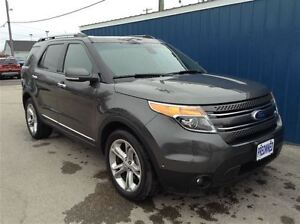 2015 Ford Explorer Limited AWD Lthr Mnrf Nav