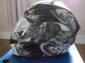AGV / MDS New Sprinter Size Large Motorcycle Helmet / Brand New / Never Worn / Full Warranty.