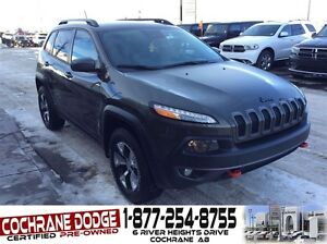 2015 Jeep Cherokee Trailhawk w/SAFETY TECH GROUP AND REMOTE STAR