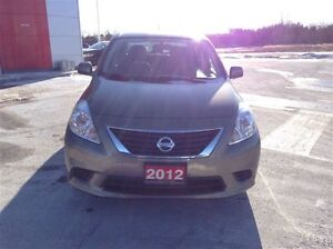 2012 Nissan Versa Sv 1 owner local trade