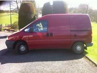 Van for repair or spares