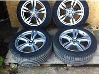 "BMW X5 F15 467 ""19"" ALLOY WHEELS AND TYRES"