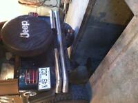 Bumper jeep tj