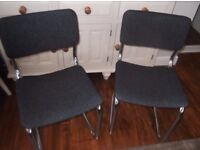 2 Office chairs for sale.