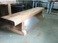Sturdy Indoor/Outdoor Wooden Benches. £100 each