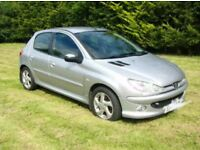 For sale a peugeot 206 hdi long mot good service history not car cars 207 207 astra clio ford golf