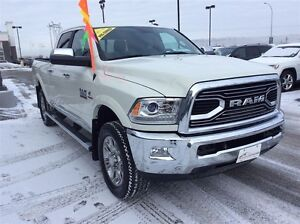 2016 Ram 2500 Limited Crew w/REAR AUTO LEVELLING SUSPENSION!