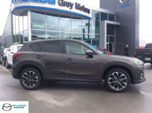 2016 Mazda CX-5 GT, Navigation, Heated Leather, One owner!