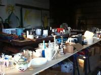 Huge multi family garage sale near Beeton