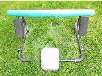 Abdominal roller, Crunch sit up machine
