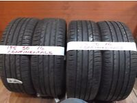 4 of 195 50 16 CONTIS 6MM TREAD £25 EACH SUPP & FITTED also 4 of 195 55 16 gudyear runflats (more av