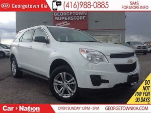 2014 Chevrolet Equinox LS | ALL WHEEL DRIVE | CLEAN CARPROOF |