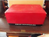 Vintage Arcoy Woodwork Carpentry Dovetail Jig Dovetailer with box and Manual