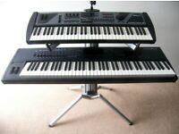 Professional Keyboard Piano Stand , K&M Baby Spider Pro for Korg , Roland , Yamaha , Kutzweil.