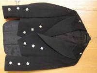 Kilt jacket (Prince Charlie) and Waistcoat