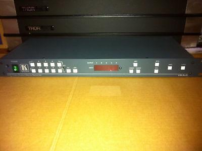 Kramer Video Switch (Kramer 5x5 Composite Video & Stereo Audio Matrix switch )