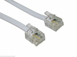 10m (32ft) High-Speed ADSL RJ11 Broadband Cable/Lead