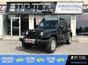 2008 Jeep Wrangler Unlimited Sahara ** Low Kms, Manual **