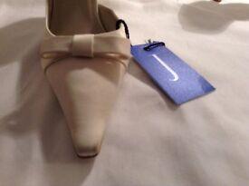 Jasper Conran wedding shoes size 7 - £25. Slightly marked