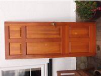 Doors - internal 6 panel solid wood doors.