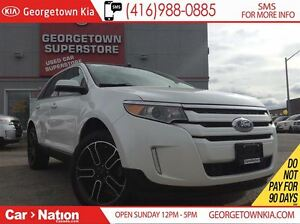 2014 Ford Edge SEL | NAVI | PANOROOF | LEATHER | AWD | BACK UP C
