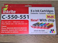 Canon Compatible cartridges C-550 & C-551
