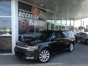 2014 Ford Flex LIMITED / AWD / NAVIGATION