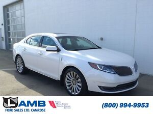 2015 Lincoln MKS AWD Technology Pkg Navigation Moonroof Heated S